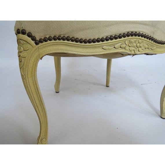 1950's Louis XV Chair For Sale - Image 5 of 9