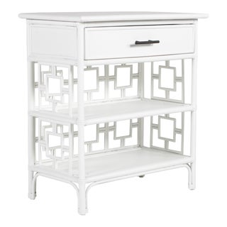 Sobe End Table - White For Sale