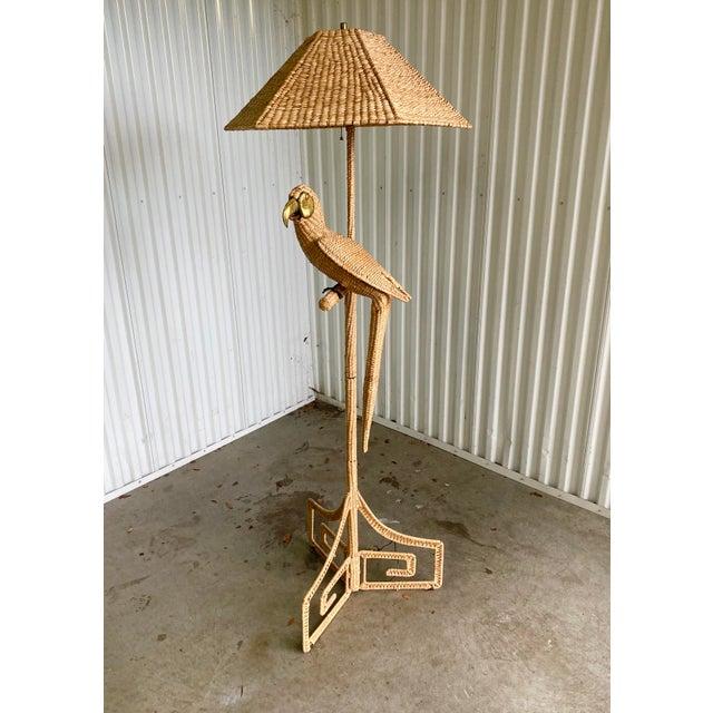 Vintage Mario Lopez Torres Parrot Floor Lamp For Sale In Miami - Image 6 of 9