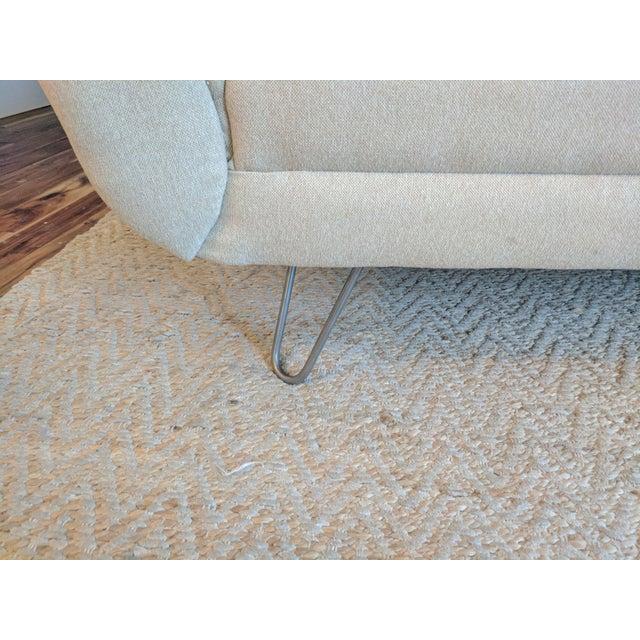 Joybird Aubrey Sofa With Custom Hairpin Legs For Sale - Image 5 of 7