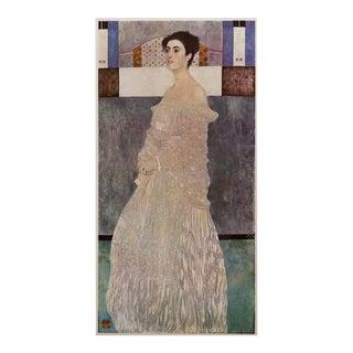 """1964 Gustav Klimt """"Portrait of Margaret Stonborough Wittgenstein"""", Large Photogravure For Sale"""