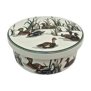 Hankook Porcelain Duck Hunting Box