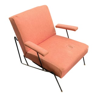 Tony Paul Iron Armchair For Sale