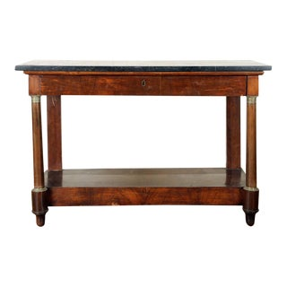 Mid 19th Century French Empire Console For Sale