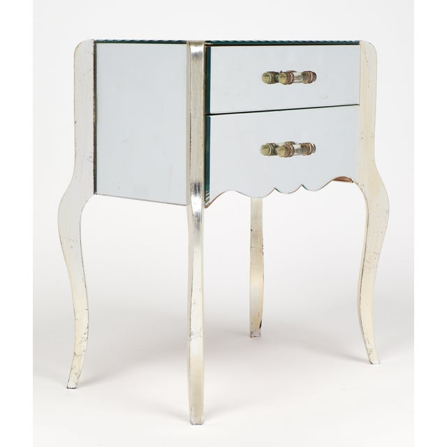 French Art Deco Mirrored Side Tables - A Pair - Image 3 of 10