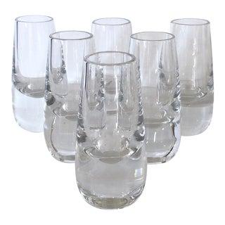 Set of 6 Swedish Shot Glasses For Sale