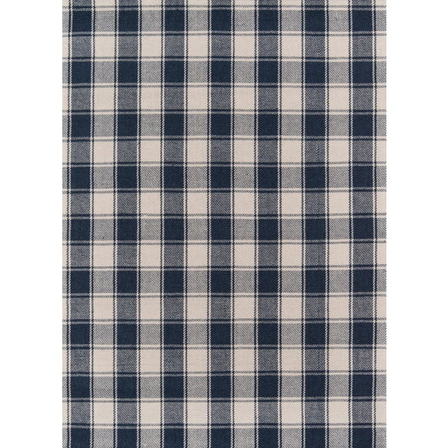 Textile Erin Gates by Momeni Marlborough Charles Navy Hand Woven Wool Area Rug - 8′ × 10′ For Sale - Image 7 of 7