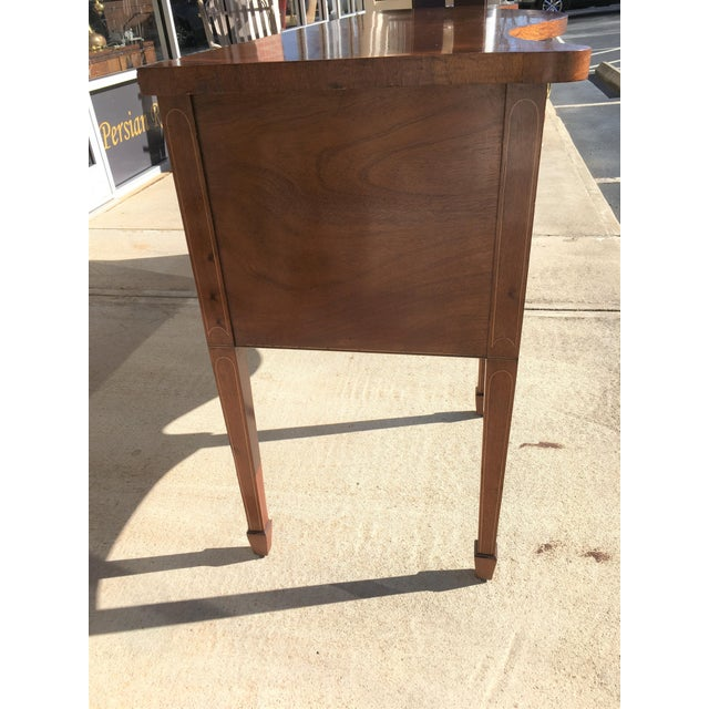 Early 20th Century Mahogany Inlaid Sideboard For Sale In Raleigh - Image 6 of 11
