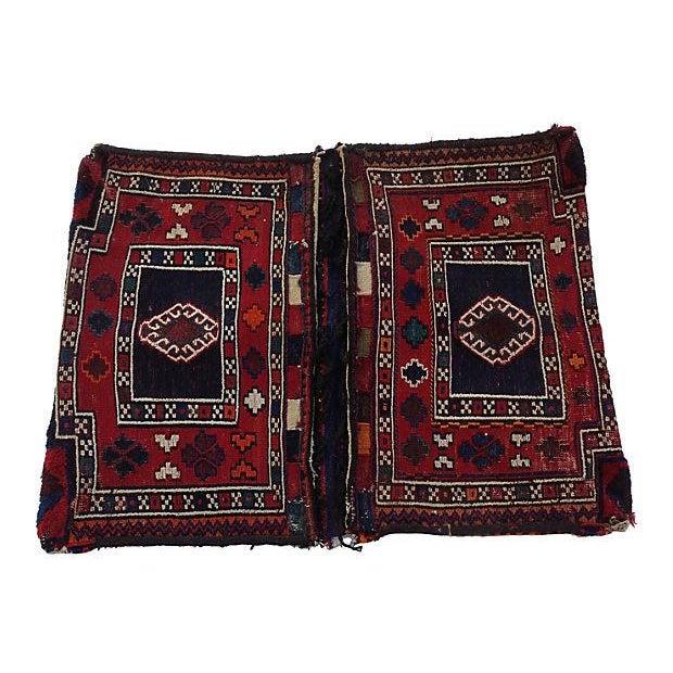 Turkish Wool Saddlebag - Image 1 of 6