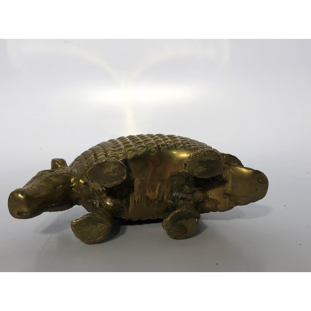 This armored creature is the perfect statement accessory for the coffee table! Tough little guy is so charming with his or...