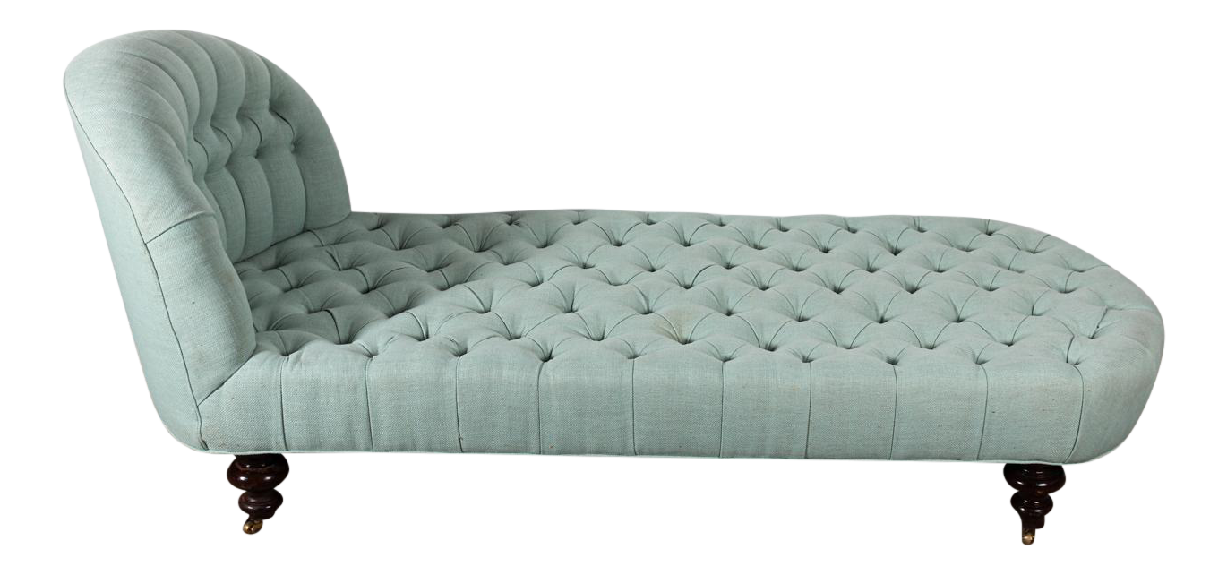 - Early 20th Century Tufted Chaise Lounge Chairish