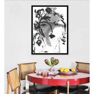 "Medium ""Black and White Portrait"" Print by Leslie Weaver, 24 X 32"" Preview"