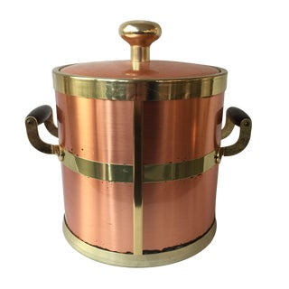 Copper Handled Ice Bucket