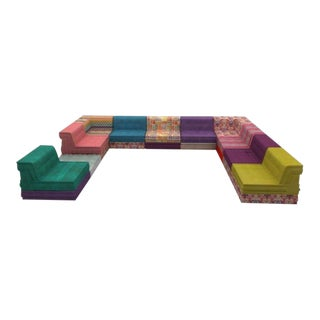 Missoni Roche Bobois Mah Jong Sectional - 21 Pc. Set For Sale