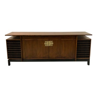 Asian Modern Style Credenza att. James Mont For Sale