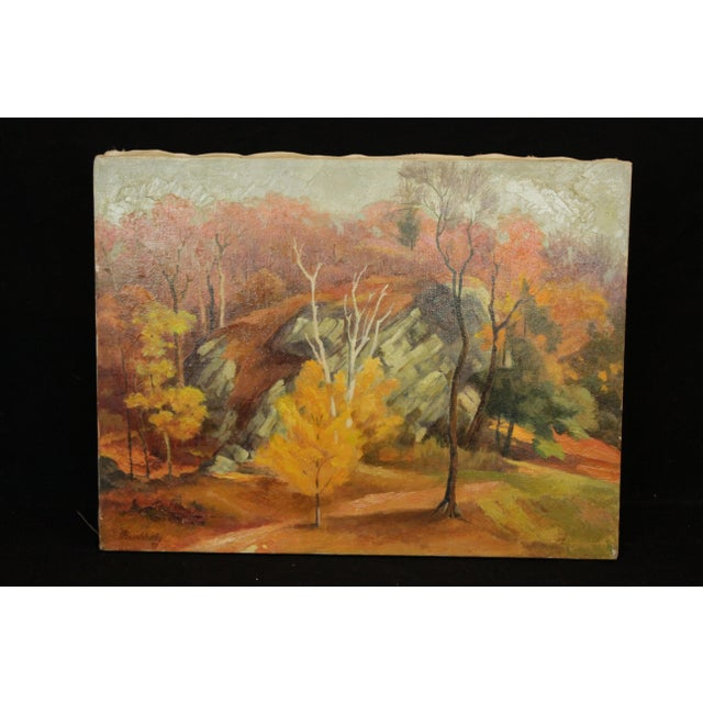 Autumn Landscape Signed Buchholz For Sale In New York - Image 6 of 6