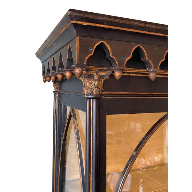Gothic Antique Gothic Style Cabinet For Sale - Image 3 of 6