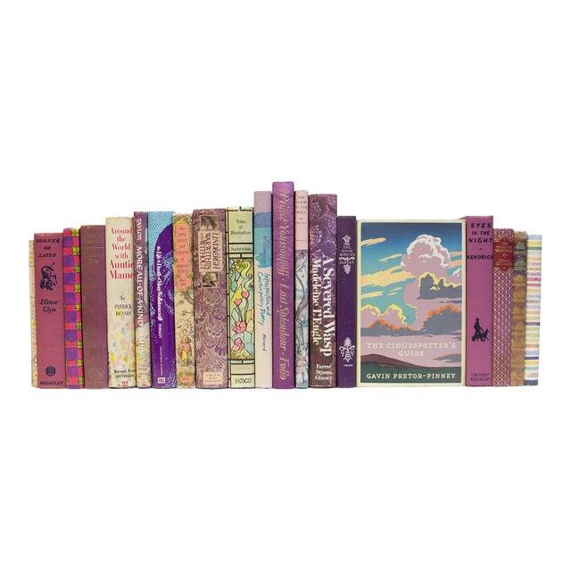 Vintage Orchid MIX Media Books - Set of 20 For Sale