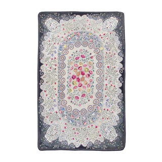 American Hooked Floral Rug - 9′6″ × 14′9″ For Sale