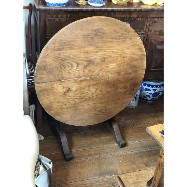 Wonderful authentic 19th century wine tasting table, perfect to use for wine tastings with friends in your wine cellar, or...