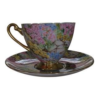 Shelley of England Rock Garden Tea Cup