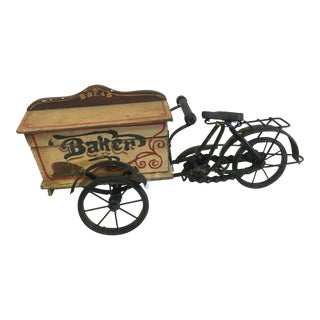 Antique Baker's Cart Toy For Sale