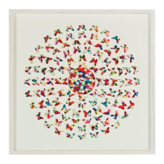 Contemporary Laser Cut Butterflies Wall Art For Sale