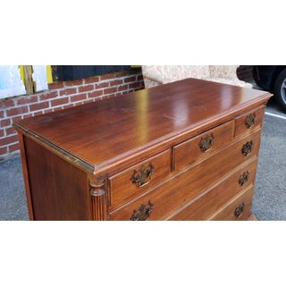 Vintage 1940s Queen Anne Style 3 Over 3 Bedroom Chest of Drawers ~ as Is ~ Preview