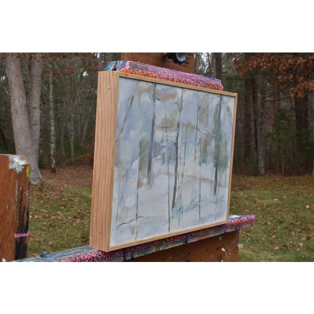 """Paint Stephen Remick """"Winter Woods"""" Painting For Sale - Image 7 of 8"""