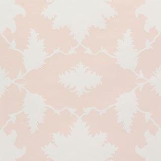 Schumacher X Mary McDonald Garden of Persia Wallpaper in Petal For Sale