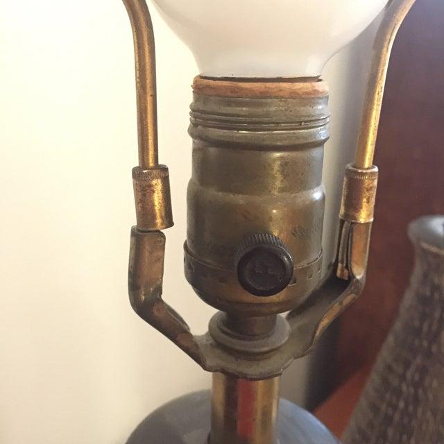 Bitossi Italy Ceramic Rope Lamp, 1960s - A Pair For Sale In San Antonio - Image 6 of 11