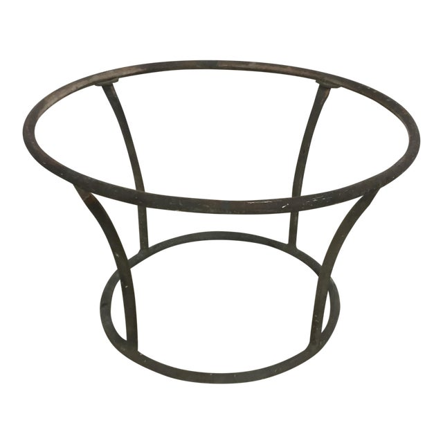 1960s Mid-Century Modern Kipp Stewart for Terra Furniture Bronze Age Tubular Side Table For Sale