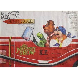 1979 Polish Movie Poster - Muppets Go to Hollywood For Sale