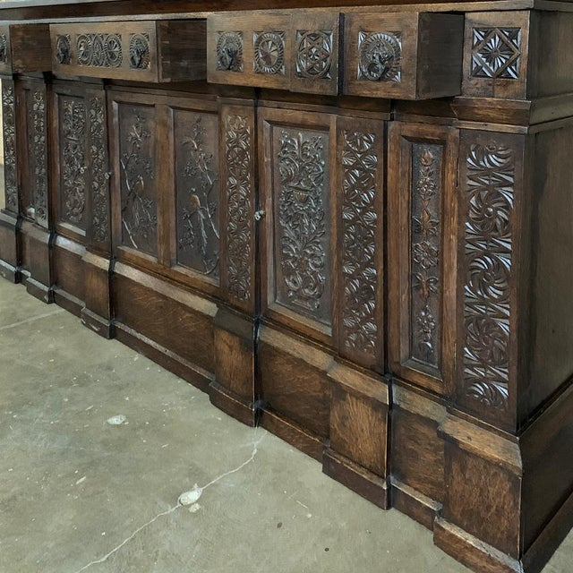 19th Century Renaissance Bookcase For Sale - Image 9 of 13