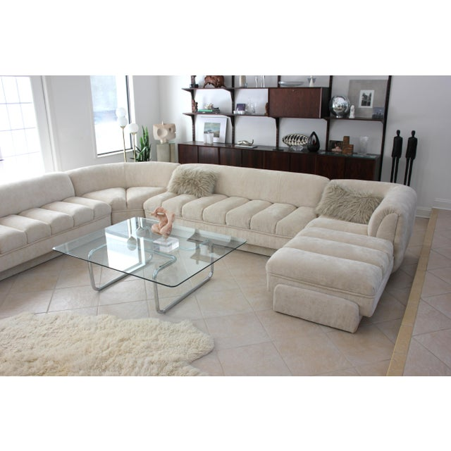 Vladimir Kagan Attributed Directional Sectional Sofa For Sale - Image 9 of 13