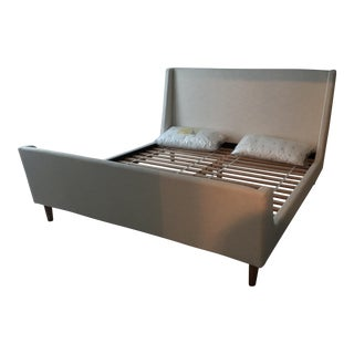 West Elm Sleigh Bed For Sale