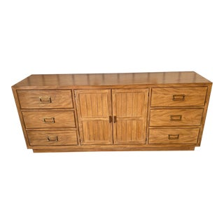 Drexel Heritage Cross Country Collection Triple Dresser For Sale