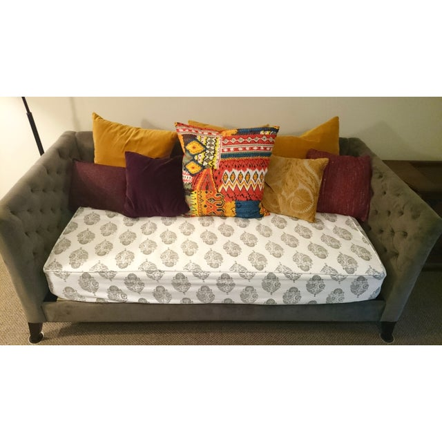 Contemporary West Elm Elton Daybed in Otter For Sale - Image 3 of 9