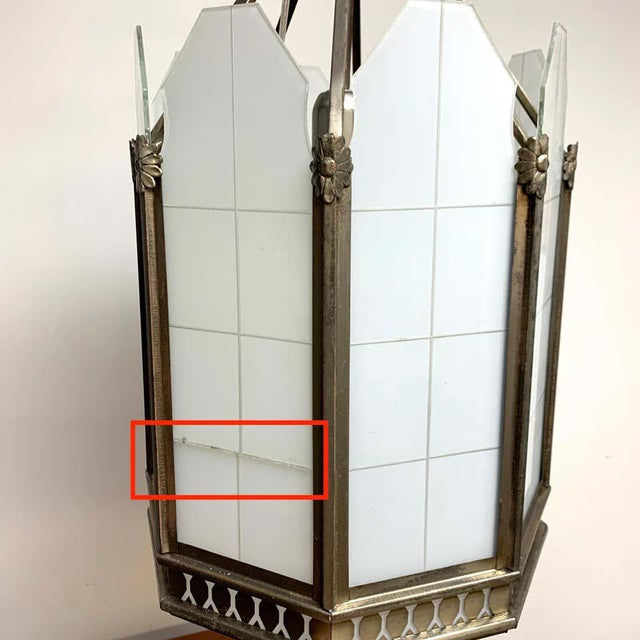 Art Deco Octagon Lantern From the El Cid Theatre, Los Angles For Sale In West Palm - Image 6 of 11