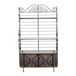 20th Century French Regency Style Bakers Rack For Sale