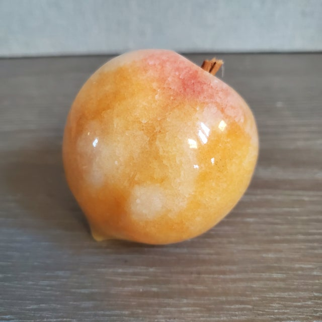 Mid 20th Century Italian Marble Fruit, 5 Pieces For Sale - Image 5 of 9