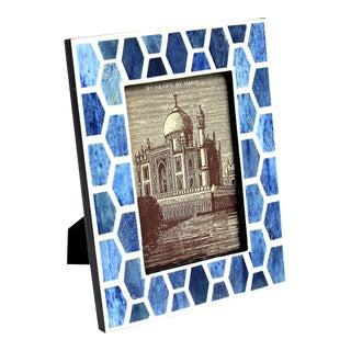"Gramercy in Indigo Photo Frame, 5x7"" For Sale"