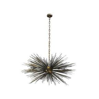 1960s Bronze Brutalist Sputnik Chandelier For Sale