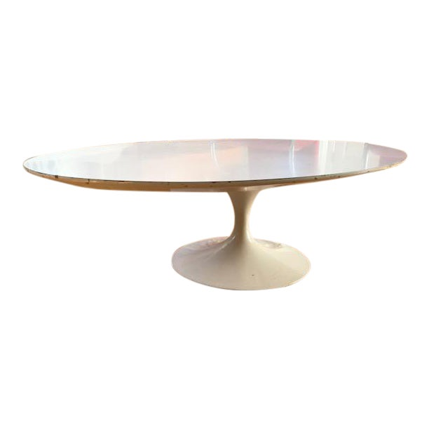 Vintage Eero Saarinen Knoll Oval Tulip Coffee Table - Image 1 of 4
