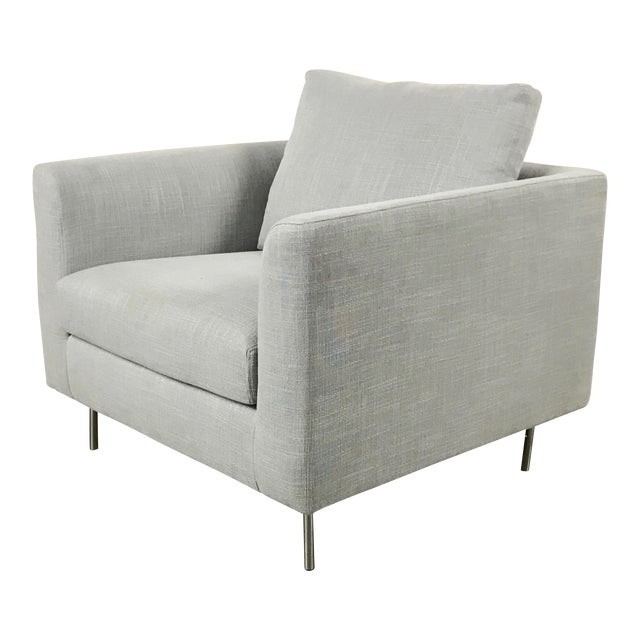 Clean Lined Modern Armchair - Image 1 of 11