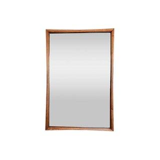 Kent Coffey Mid-Century Modern Pecan Mirror