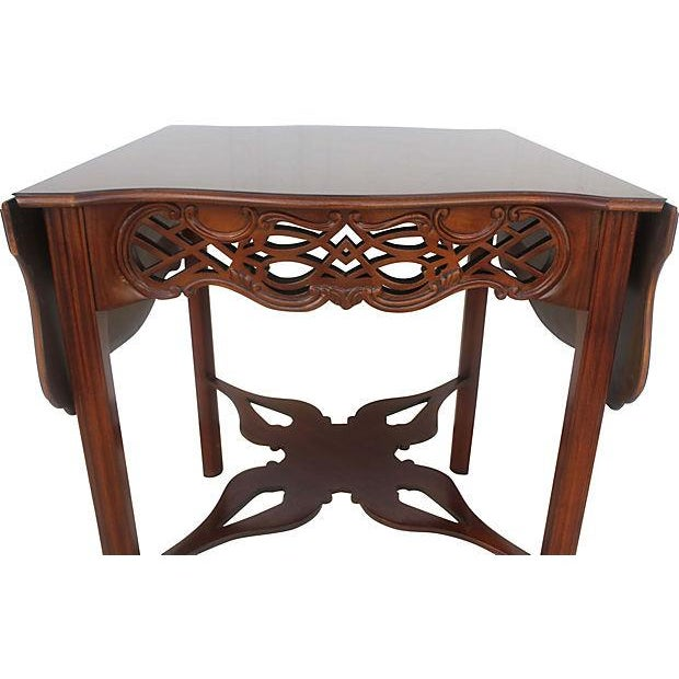 Baker Flip-Top Table For Sale - Image 4 of 6
