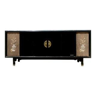 Mid-Century Modern Magnavox Hi-Fi System & Cabinet/Credenza For Sale