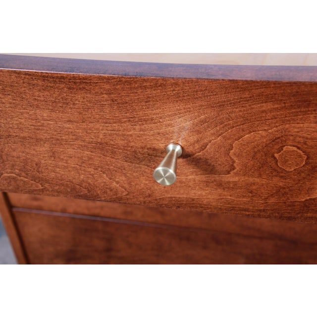 Paul McCobb Planner Group Mid-Century Modern Long Dresser or Credenza, Newly Restored For Sale In South Bend - Image 6 of 13