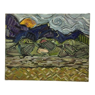 20th Centrury French Post Impressionist Painting For Sale